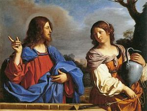Jesus and the Samaritan Woman at the Well, Guercino, c. 1640