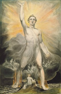 """Angel of Revelation,"" William Blake [Public Domain], via Wikimedia Commons"