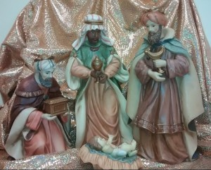 Traditionally, but not scripturally, there were three wise men.